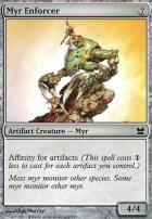 Modern Masters Foil: Myr Enforcer