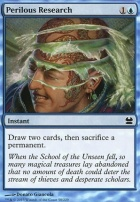Modern Masters Foil: Perilous Research