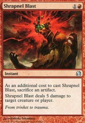 Modern Masters: Shrapnel Blast