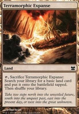 Modern Masters Foil: Terramorphic Expanse