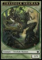 Modern Masters: Treefolk Shaman Token