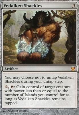 Modern Masters Foil: Vedalken Shackles