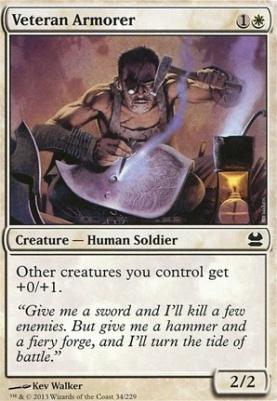 Modern Masters: Veteran Armorer