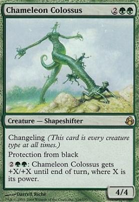 Morningtide Foil: Chameleon Colossus