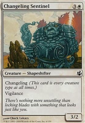 Morningtide Foil: Changeling Sentinel
