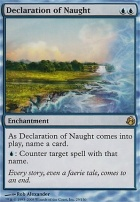 Morningtide: Declaration of Naught