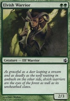 Morningtide Foil: Elvish Warrior