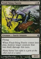 Morningtide Foil: Final-Sting Faerie