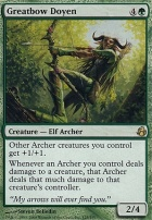 Morningtide Foil: Greatbow Doyen