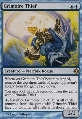 Morningtide Foil: Grimoire Thief