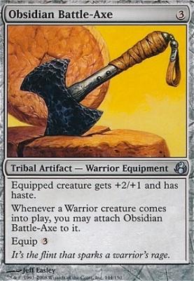 Morningtide: Obsidian Battle-Axe