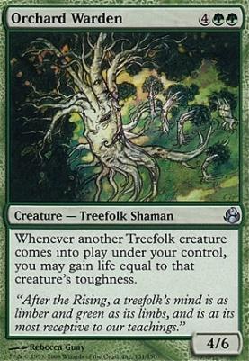 Morningtide Foil: Orchard Warden