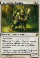 Morningtide: Preeminent Captain
