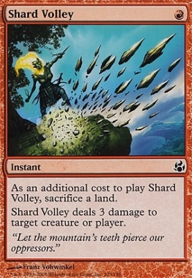 Morningtide: Shard Volley