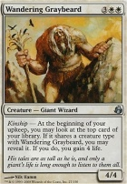 Morningtide Foil: Wandering Graybeard