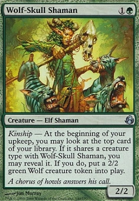 Morningtide: Wolf-Skull Shaman