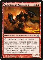 Mystery Booster/The List: Archetype of Aggression