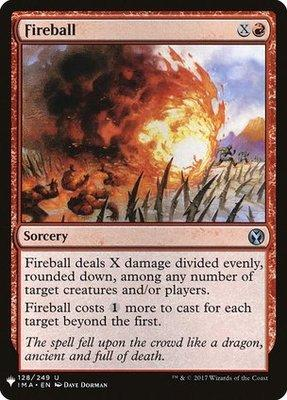Mystery Booster/The List: Fireball (Iconic Masters)