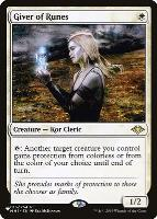 Mystery Booster/The List: Giver of Runes