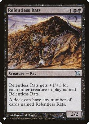 Mystery Booster/The List: Relentless Rats