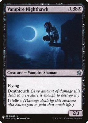 Mystery Booster/The List: Vampire Nighthawk (Explorers of Ixalan)