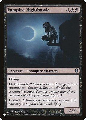 Mystery Booster/The List: Vampire Nighthawk (Zendikar)