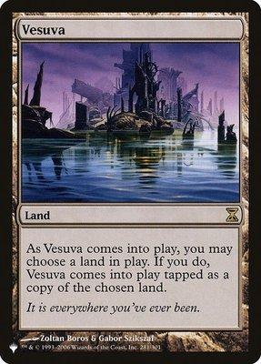Mystery Booster/The List: Vesuva