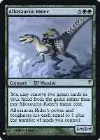 Mystery Booster/The List: Allosaurus Rider (Foil)
