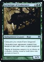 Mystery Booster/The List: Archetype of Endurance (Foil)