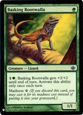 Mystery Booster: Basking Rootwalla