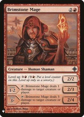 Mystery Booster/The List: Brimstone Mage