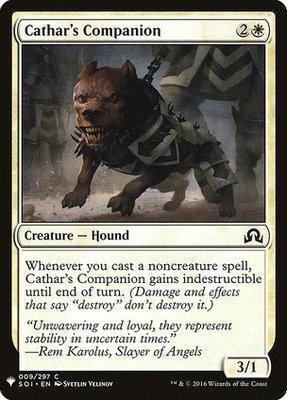 Mystery Booster/The List: Cathar's Companion