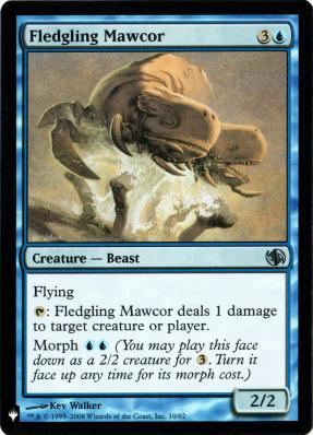 Mystery Booster/The List: Fledgling Mawcor