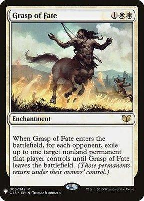 Mystery Booster/The List: Grasp of Fate