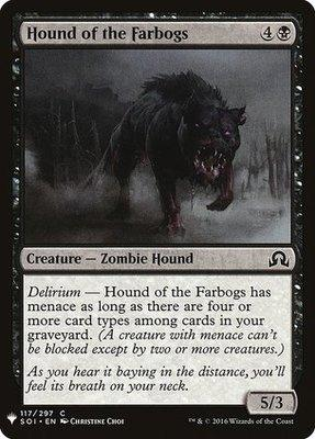 Mystery Booster/The List: Hound of the Farbogs