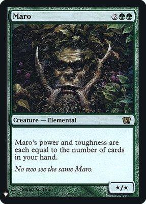 Mystery Booster/The List: Maro (Foil)
