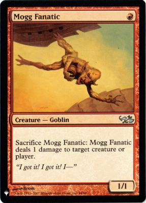 Mystery Booster/The List: Mogg Fanatic
