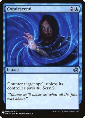 Mystery Booster/The List: Condescend