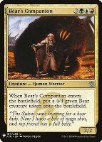 Mystery Booster/The List: Bear's Companion