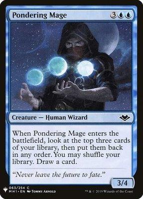 Mystery Booster/The List: Pondering Mage