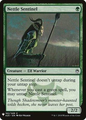 Mystery Booster/The List: Nettle Sentinel