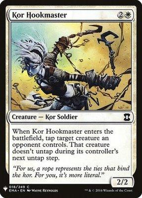 Mystery Booster/The List: Kor Hookmaster