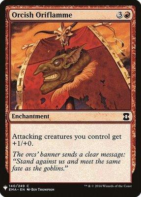 Mystery Booster/The List: Orcish Oriflamme