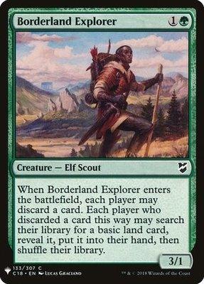 Mystery Booster/The List: Borderland Explorer