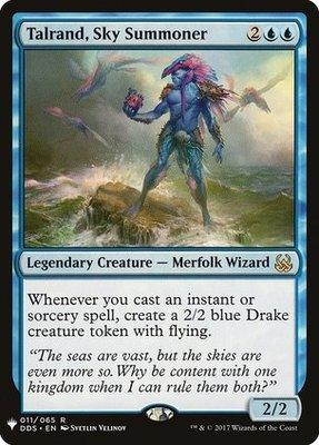 Mystery Booster/The List: Talrand, Sky Summoner