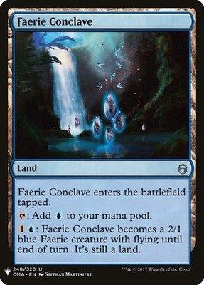 Mystery Booster: Faerie Conclave