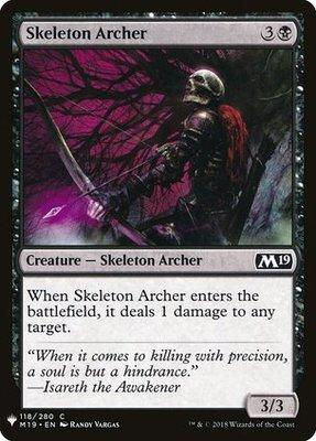 Mystery Booster/The List: Skeleton Archer