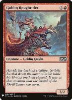 Mystery Booster/The List: Goblin Roughrider