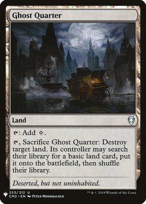 Mystery Booster/The List: Ghost Quarter
