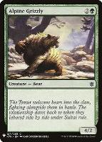 Mystery Booster/The List: Alpine Grizzly